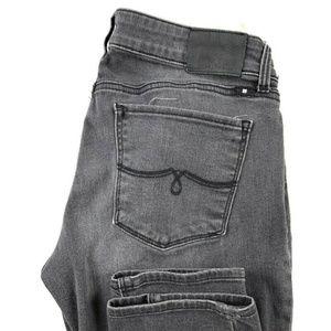 Lucky Brand Lolita Skinny Gray Stretch Jeans